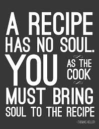 THE DIFFERENCE BETWEEN A COOK AND A CHEF