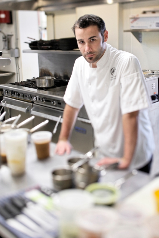 TYLER SCOTT:  A YOUNG CHEF MARKS A PATH TO EXCELLENCE